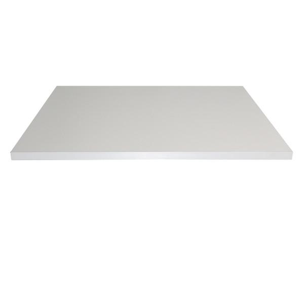 weiss 120x80x2 5cm tischplatte tischplatten ingastro restaurant m bel direkt vom importeur. Black Bedroom Furniture Sets. Home Design Ideas