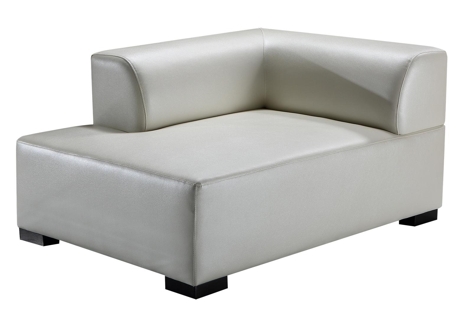 Neu hotel komfortables ecksofa couch leder beige sofa for Ecksofa beige leder