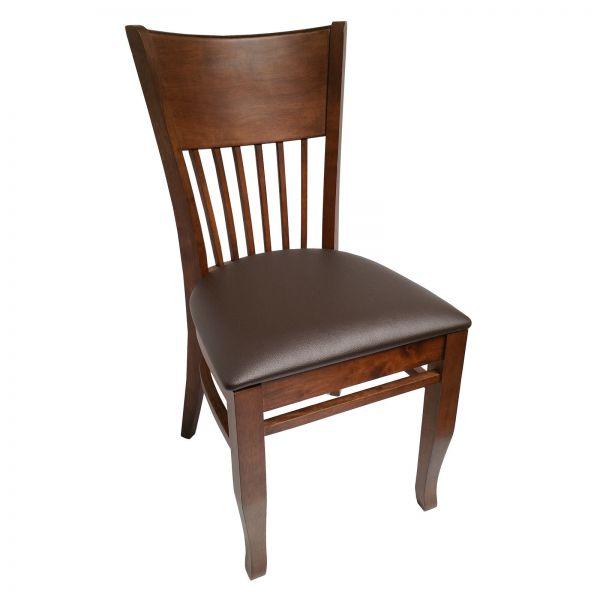 restaurant st hle bistro gastronomie m bel stuhl vera kunstleder cocoa ebay. Black Bedroom Furniture Sets. Home Design Ideas