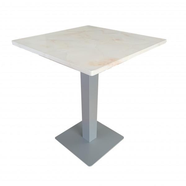 Tisch Lissabon 60x60cm Restauranttisch Bistrotisch Gastrotisch