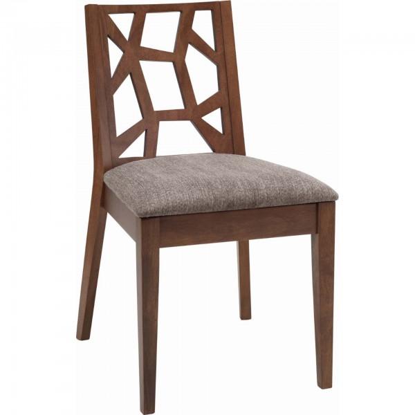 Stuhl Jenifer - Cocoa/Graubraun