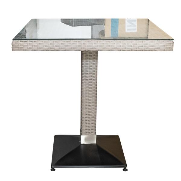 Polyrattan Tisch Verona 70x70