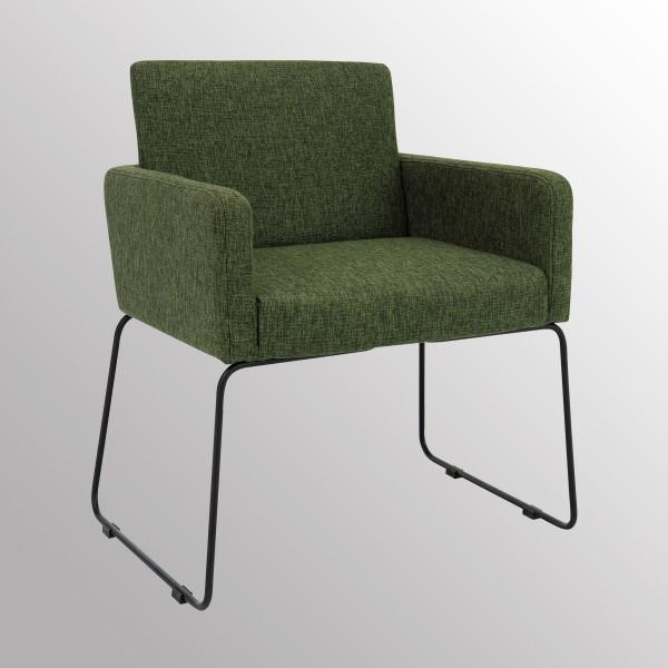 Stuhl Delma Sessel Cocktailsessel Loungesessel Grün