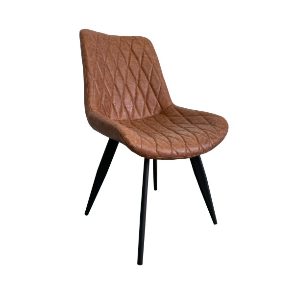 Stühle Restaurant Scarlet Alt braun Kunstleder Hotel Bistro
