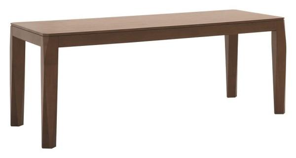 Gastronomie Tisch Facia Massivholz Braun