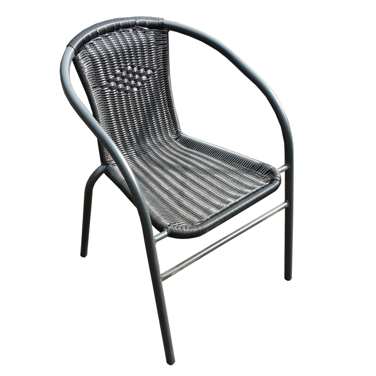 polyrattan stuhl mardin schwarz outdoor st hle outdoor ingastro restaurant m bel direkt. Black Bedroom Furniture Sets. Home Design Ideas