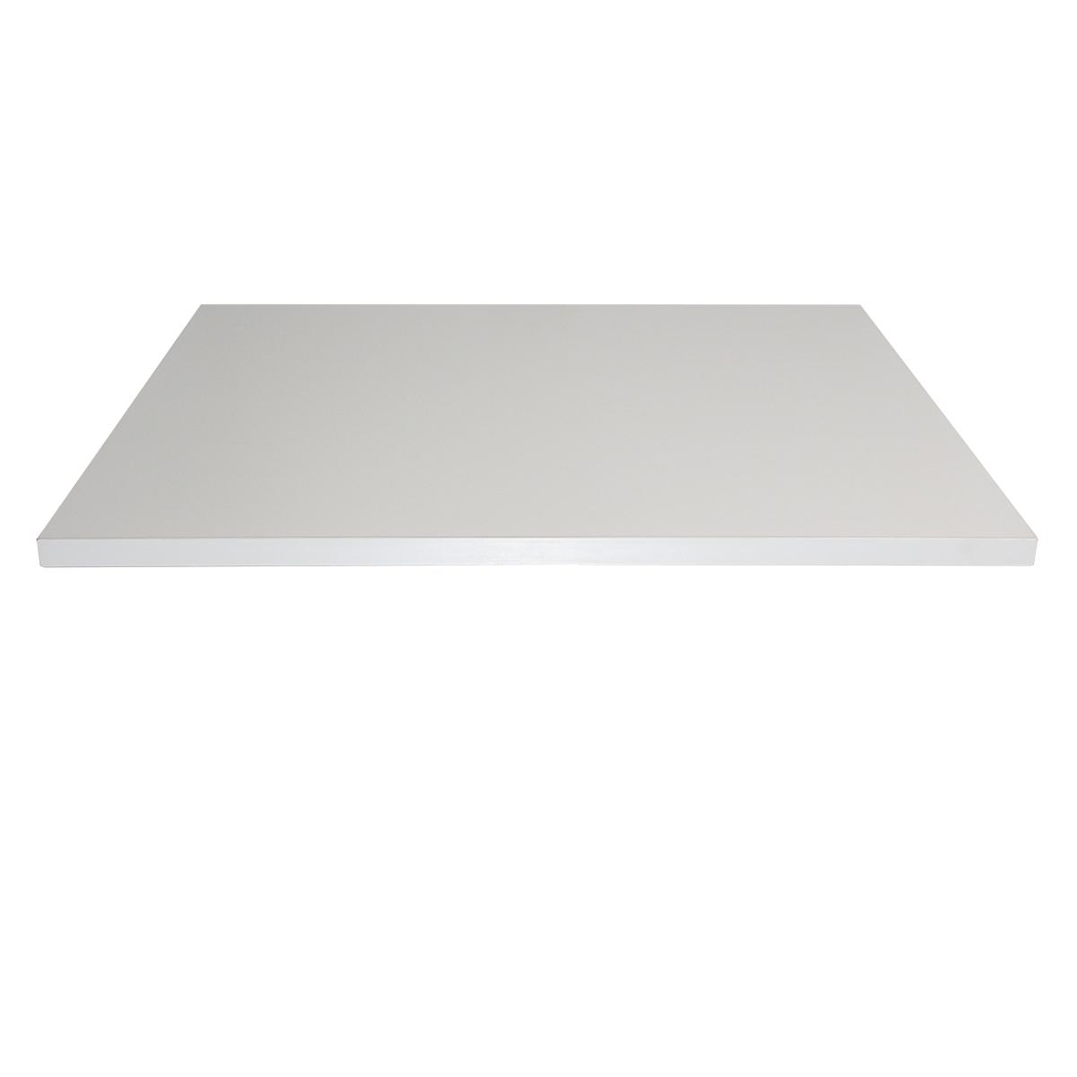 weiss 80x70x2 5cm tischplatte tischplatten ingastro restaurant m bel direkt vom importeur. Black Bedroom Furniture Sets. Home Design Ideas