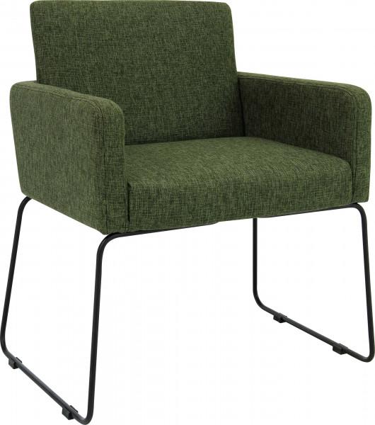Stuhl Delma grün / dunkelgrün