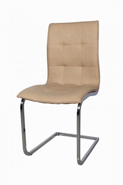 Schwinger Stuhl Creme