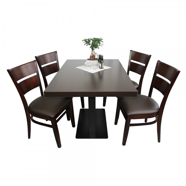 1 4 restaurant set grace hotel bistro tisch 120x80 st hle for Tisch 120x80