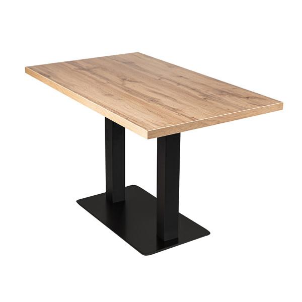 Tisch Andora 100x80cm Eiche Restauranttisch Bistrotisch Gastrotisch
