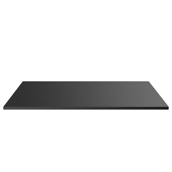 Tischplatte Schwarz 120x75x3,5cm Kratzfeste